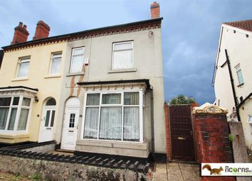 Thumbnail 4 bed semi-detached house for sale in Slaney Road, Walsall