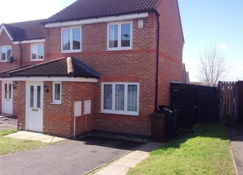 Thumbnail 2 bed semi-detached house to rent in Mercer Drive, Lincoln