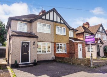 Thumbnail 3 bed semi-detached house for sale in Harvey Road, Uxbridge