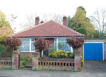 Thumbnail 3 bed detached bungalow for sale in Manor Road, Ipswich