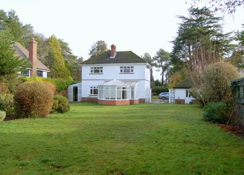 Thumbnail 3 bedroom detached house to rent in Dudsbury Road, West Parley, Ferndown