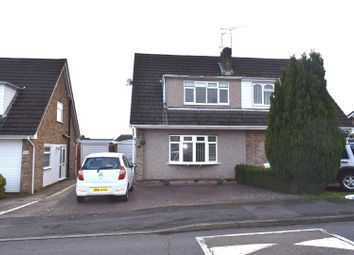 Thumbnail 3 bed semi-detached house for sale in Tamar Road, Bulkington, Bedworth