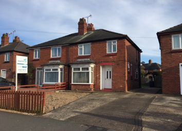 Thumbnail 3 bed semi-detached house for sale in Moorland Avenue, Lincoln