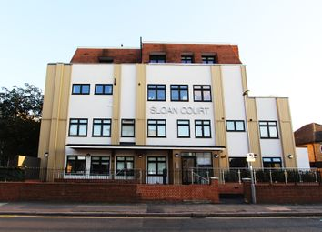 Thumbnail 2 bedroom flat for sale in Coombe Road, New Malden