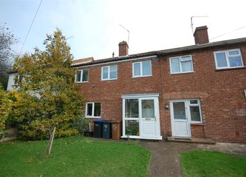 Thumbnail 3 bed terraced house for sale in Queens Crescent, Northampton
