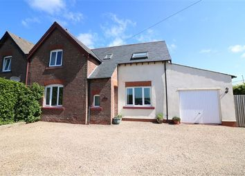 Thumbnail 4 bed semi-detached house for sale in Longtown, Carlisle, Cumbria