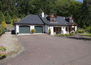 Thumbnail 4 bed detached house for sale in Tummel Lodge, Ballyoukan, Pitlochry