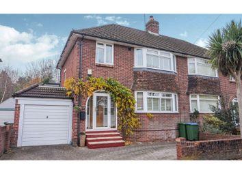 Thumbnail 4 bed semi-detached house for sale in Wallington Shore Road, Fareham