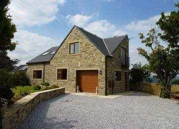 Thumbnail 4 bed detached house for sale in West Lodge Crescent, Ainley Top, Huddersfield