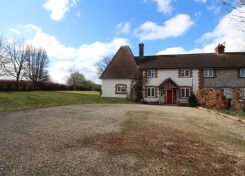 Thumbnail 4 bed semi-detached house to rent in 1 Hoplands Estate, Kings Somborne