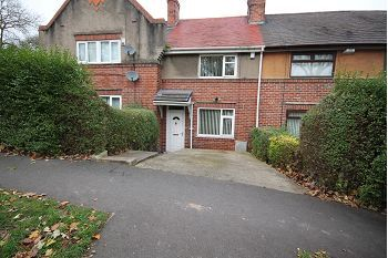 Thumbnail 2 bed terraced house to rent in Southey Hall Drive, Sheffield