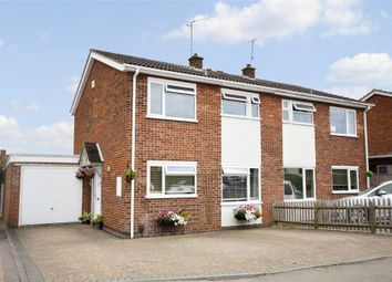 Thumbnail 3 bed semi-detached house for sale in Langham Road, Raunds, Northamptonshire