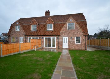 Thumbnail 3 bed semi-detached house to rent in Sible Hedingham, Halstead, Essex