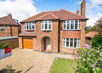 Thumbnail 4 bedroom detached house for sale in Hempland Avenue, York, North Yorkshire, England