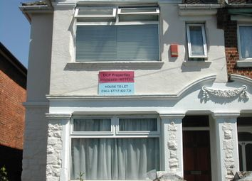 Thumbnail 5 bed terraced house to rent in Harborough Road, Shirley, Southampton