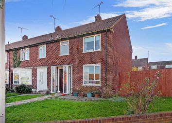 Thumbnail 2 bed end terrace house for sale in Baron Close, Gillingham, Kent