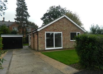 Thumbnail 2 bedroom detached bungalow to rent in Hilltop Close, Eagle, Lincoln
