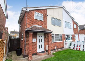 Thumbnail 3 bed semi-detached house for sale in Gainsborough Avenue, Canvey Island