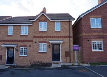 Thumbnail 2 bed semi-detached house for sale in Lias Close, Southam