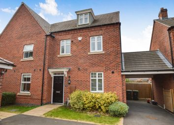 3 bed end terrace house to rent in Raynesford Close, Quorn, Loughborough LE12