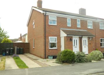 Thumbnail 2 bedroom end terrace house to rent in Oak Road, North Duffield, Selby
