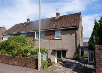 Thumbnail 3 bed semi-detached house for sale in Heol Castell, Cefn Cribwr, Bridgend