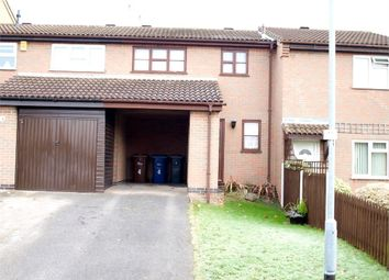 Thumbnail 1 bed town house for sale in Meynell Close, Burton-On-Trent, Staffordshire