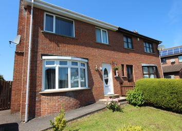 Thumbnail 3 bed semi-detached house for sale in Old Grange Avenue, Carrickfergus