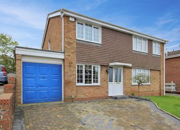 Thumbnail 3 bed semi-detached house for sale in Danby Crest, Stafford