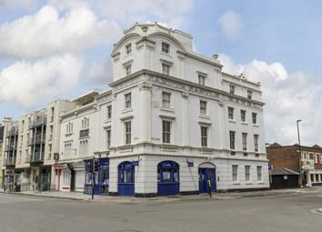 Thumbnail 2 bed flat for sale in Canute Castle, 2 Royal Crescent Road, Southampton
