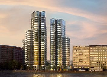 Thumbnail 2 bed flat to rent in Albert Embankment, The Corniche, London
