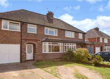 Thumbnail 4 bed semi-detached house for sale in Dynevor Place, Fairlands, Guildford