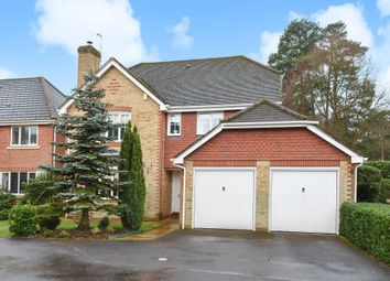 Thumbnail 4 bed detached house for sale in Ridgewood Drive, Camberley, Surrey