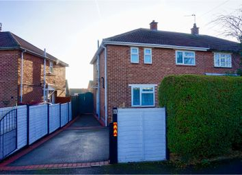 Thumbnail 3 bed semi-detached house for sale in Thorpe Road, Shepshed