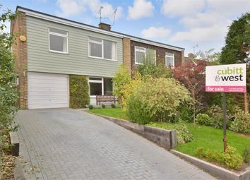 Thumbnail 3 bed semi-detached house for sale in Rectory Close, Ashington, West Sussex