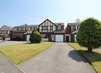 Thumbnail 4 bed detached house for sale in Sudbourne Close, Packmoor, Stoke-On-Trent
