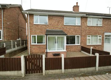 Thumbnail 3 bedroom semi-detached house for sale in Station Road, Shirebrook, Mansfield