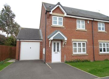 Thumbnail 3 bedroom semi-detached house for sale in Ladyburn Way, Hadston, Morpeth