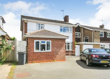 Thumbnail 5 bed detached house for sale in Finch Close, Western Park, Leicester