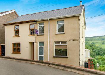 Thumbnail 3 bed semi-detached house for sale in Church Street, Ynysybwl, Pontypridd