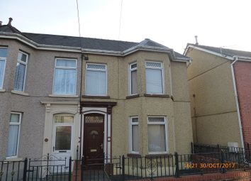 Thumbnail 2 bed semi-detached house for sale in Villiers Road, Ammanford, Carmarthenshire.