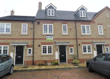 Thumbnail 4 bedroom town house to rent in Gale Gardens, Whittlesey, Peterborough