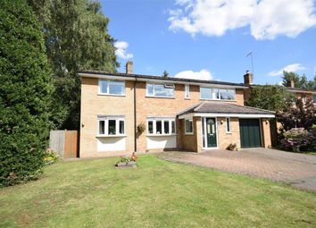 Thumbnail 4 bed detached house for sale in Greville Close, Boughton, Northampton