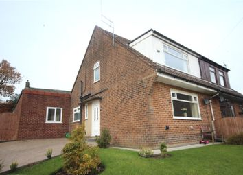 Thumbnail 4 bed semi-detached house for sale in Knowsley Crescent, Shawforth, Rochdale, Lancashire