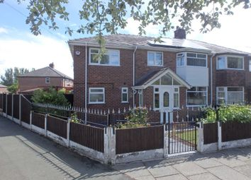 Thumbnail 4 bed semi-detached house for sale in Poplars Avenue, Warrington