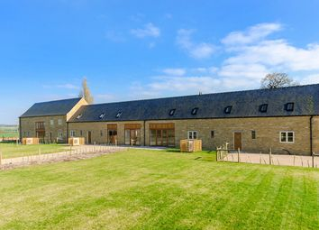 Thumbnail 4 bed barn conversion for sale in The Elms Farm, Wittering, Peterborough