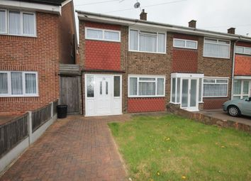 Thumbnail 3 bedroom semi-detached house to rent in Cowdray Way, Hornchurch