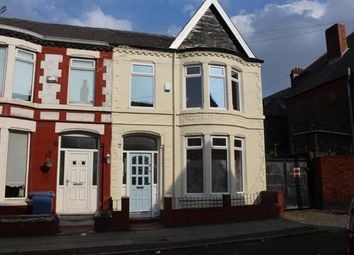 Thumbnail 3 bed end terrace house to rent in Fitzgerald Road, Old Swan, Liverpool