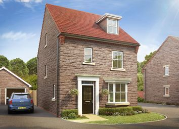 "Thumbnail 4 bedroom detached house for sale in ""Bayswater"" at Langport Road, Somerton"