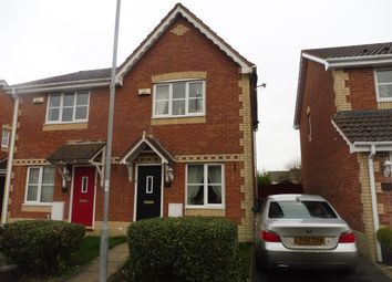 Thumbnail 2 bedroom semi-detached house for sale in Walwyn Place, St. Mellons, Cardiff